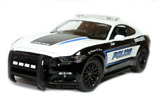 2015 FORD MUSTANG GT POLICE EMERGENCY RESPONSE DIE CAST 1/18 BY MAISTO 36203