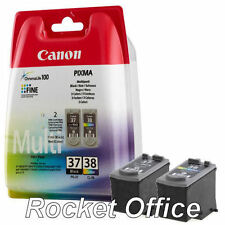 New PG37 Black & CL38 Colour Ink Cartridge For Canon PIXMA iP1900 iP2600 Printer