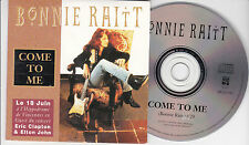 CD CARTONNE CARDSLEEVE COLLECTOR 1T BONNIE RAITT COME TO ME 1991 FRANCE
