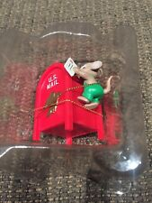 ENESCO CHRISTMAS ORNAMENT: SPECIAL DELIVERY!  mailbox and mouse new