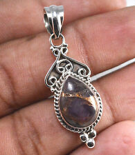 Cacoxenite Gemstone 925 Sterling Silver Pendant Jewelry Sz 3.8 Cm NY-A7804
