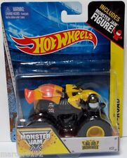 Hot Wheels Monster Jam Monster Nitro Hornet W/ Figure 1:64 Die-Cast New