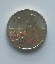 2012 AUSTRALIA ANZAC DAY  $1 UNC MINT COIN - NOT ISSUED FOR CIRCULATION