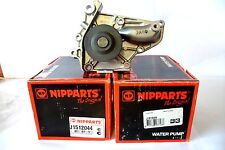 NEW NIPPARTS WATER PUMP TOYOTA - CAMRY AVENSIS CARINA RAV MR2 J1512044-ADT39136