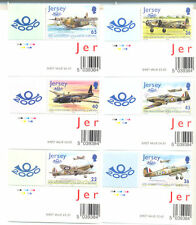 Jersey-Battle of Britain World war II-Military - Aviation set mnh