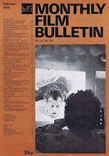 JOE SAUNDERS DARK STAR Monthly Film Bulletin Feb 1978