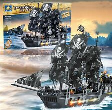 Black Pearl Pirates of the Caribbean Pirate Ship Building Blocks 1184pcs