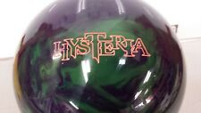 ROTO GRIP HYSTERIA  15LBS 10 oz REACTIVE RESIN BOWLING BALL-USED-LOW GAMES