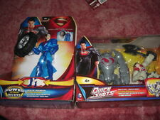 Superman Man of Steel Robot Attack Quick Shots+Power Attack Deluxe Mega Tire NEW