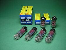 Röhrensatz  = 4 x EL84 JJ (matched Quad) + 2 x ECC83S JJ NEU -  tube amp