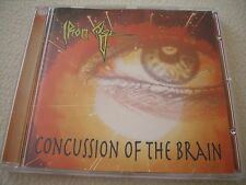 IRON AGE - Concussion of the Brain - CD - Crossroads 1995 NM