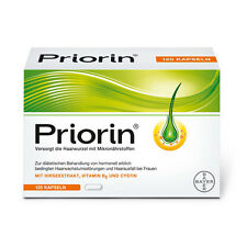 Bayer Priorin Anti Hair Loss - 120 Capsules. Hair Growth Loss Regrowth Treatment