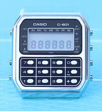 CASIO C-801 CALCULATOR WATCH Mod 133 VINTAGE RARE RETRO 1980s MADE IN JAPAN
