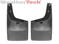 WeatherTech No-Drill MudFlaps - Ford Super Duty w/ Flares - 2011-2016 Rear Pair