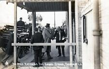 Doncaster Races Royal Visit 1907 Royalty RP old postcard used