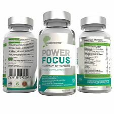 PowerFocus® #1 Nootropic Brain Supplement for Focus, Concentration and Mood