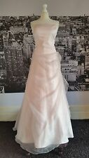 Fairytail Dress with Train (Pink-Size 16) Wedding,Prom, Ball, RRP £500+