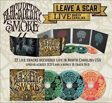 "Blackberry Smoke ""Leave A Scar - Live In North Carolina"" 2CD+DVD Digipak - NEW"