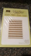 Stampin' Up Embossing Folder Argyle RETIRED!!