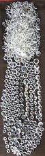 600+ VINTAGE EUROPEAN CRYSTAL GLASS PRISM CHANDELIER/SCONCE PARTS LOT # 4