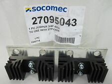 SOCOMEC PV Jumper 3/4P 400A to use with 27PV2038  # 27095043