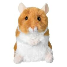 "BRUSHY HAMSTER Douglas Cuddle Toy 4.5"" stuffed animal plush kids pet tan"