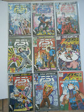 PSI FORCE- Marvel Comics Lot of 9 New Universe-FROM 1987 AND 1988~ GREAT SHAPE!