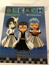 Lot Of 6 Bleach Anime Posters Ulquiorra Grimmjow Sousuke Aizen Etc