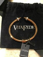 Vita Fede mini Titan Crystal Bracelet 24K ROSE GOLD Small