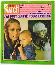 Paris Match No. 1316 - 27 juillet 1974 - i have all left for krishna
