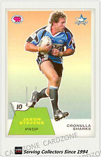2003 Select NRL Scanlens Trading Card Retro #10: Jason Stevens (Sharks)