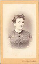 Franz Dorasil CDV photo Damenportrait - Ung. Hradisch