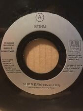 "1993 STING 7"" 45 - SEVEN DAYS (RADIO EDIT) / JANUARY STARS - A&M 580222-7"