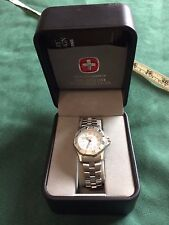 Swiss Military Women's White Dial Stainless Steel Watch 093.0663