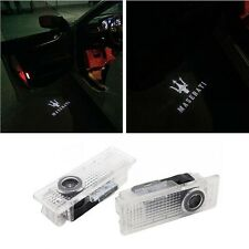 LED Door Lights Projector For MASERATI Quattroporte Ghibli Welcome Courtesy Kit