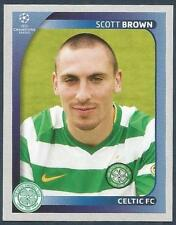 PANINI UEFA CHAMPIONS LEAGUE 2008-09- #206-CELTIC-SCOTT BROWN