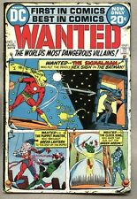 Wanted The World's Most Dangerous Villains #1-1972 fn Batman Green Lantern