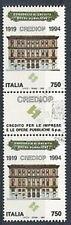 1994 ITALIA USATO CREDIOP CON APPENDICE AL CENTRO
