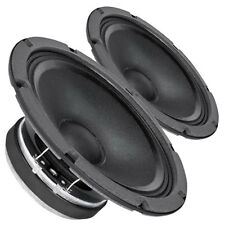 "Pair Faital Pro 8FE200 8ohm 8"" Woofer Midrange Midbass Replacement speaker 95dB"