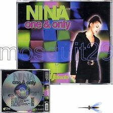 "NINA ""ONE & ONLY"" RARE CDM ITALO DANCE - DJ DADO REMIX"