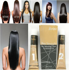 Berina Straightening Hair Cream Permanace Rebonding Cream Relax Curly Frizz Hair