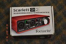 Focusrite Scarlett 2i2 2-Input/2-Output USB Audio Interface #SCARLETT-2I2