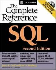 SQL: The Complete Reference, 2nd Edition James R. Groff, Paul N. Weinberg Paper