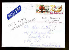 Netherlands 2007 Airmail Cover To UK #C1347