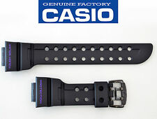 CASIO G-shock FROGMAN GF-1000BP GWF-100BP WATCH BAND BLACK RUBBER STRAP GF1000BP