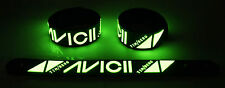 Avicii NEW! Glow in the Dark Rubber Bracelet Wristband Wake Me Up gg232