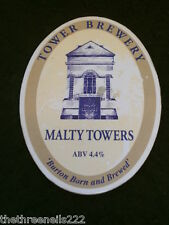 BEER PUMP CLIP - TOWER MALTY TOWERS