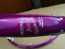 "Bluemels ""Allrounder"" mudguards fenders in metallic purple. NOS wrapped"
