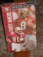 SAN FRANCISCO 49ERS 1997 OFFICIAL TEAM VIDEO NEW SEALED