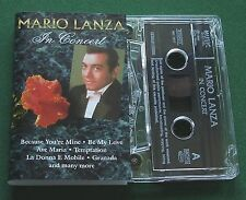 Mario Lanza In Concert inc Be My Love & Granada + Cassette Tape - TESTED